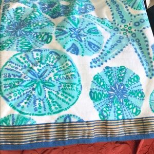 Lilly Pulitzer target towel